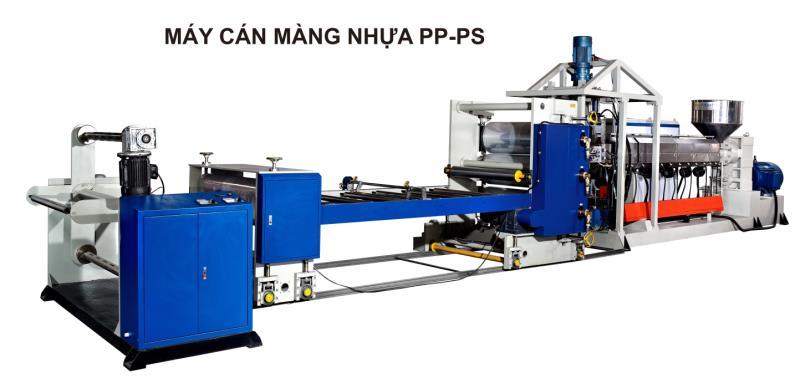 Máy cán màng nhựa PP - PS